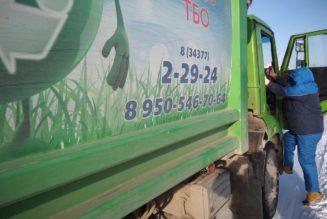Мусорный ад Чистых Рос: бегаем с мешками за мусоровозом