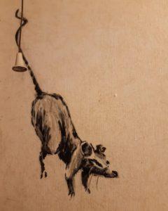 Художник Бэнкси представил работу посвященную самоизоляции